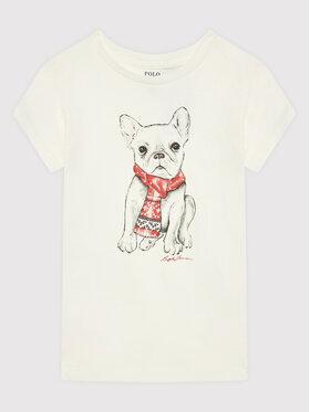 Polo Ralph Lauren Polo Ralph Lauren T-Shirt 312853363001 Weiß Regular Fit