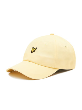 Lyle & Scott Lyle & Scott Kšiltovka Baseball Cap HE906A Žlutá