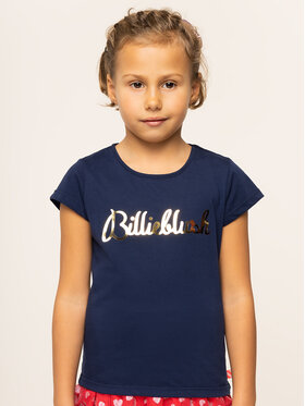 Billieblush Billieblush Marškinėliai U15P02 Tamsiai mėlyna Regular Fit