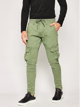 Pepe Jeans Pepe Jeans Joggery Jones PM211355 Zielony Slim Fit