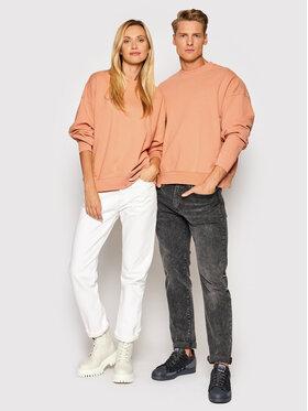 Levi's® Levi's® Felpa Unisex Standard A0886-0006 Arancione Relaxed Fit
