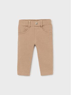 Mayoral Mayoral Текстилни панталони 560 Бежов Regular Fit