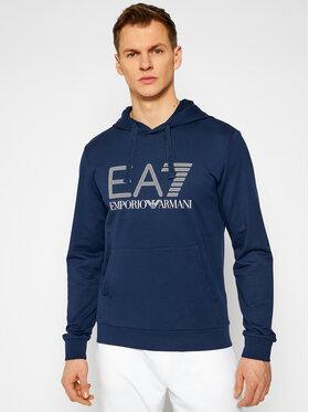 EA7 Emporio Armani EA7 Emporio Armani Majica dugih rukava 3KPM62 PJ05Z 1554 Tamnoplava Regular Fit