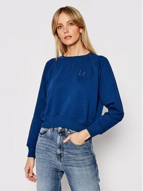 Lee Lee Džemperis Vintage L36EBRLR Tamsiai mėlyna Regular Fit