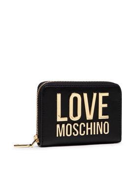 LOVE MOSCHINO LOVE MOSCHINO Голям дамски портфейл JC5613PP1DLJ000A Черен