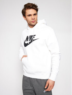 Nike Nike Bluză Sportswear Club Fleece BV2973 Alb Standard Fit