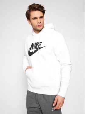 Nike Nike Majica dugih rukava Sportswear Club Fleece BV2973 Bijela Standard Fit