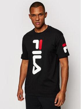 Fila Fila T-Shirt Allan 688463 Czarny Regular Fit
