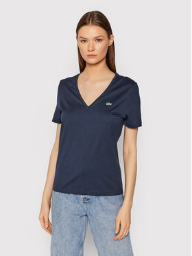 Lacoste Lacoste Футболка TF8392 Cиній Relaxed Fit