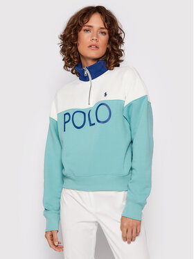 Polo Ralph Lauren Polo Ralph Lauren Bluza 211843285001 Zielony Loose Fit