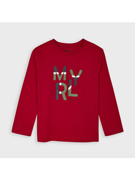 Mayoral Mayoral Μπλουζάκι 173 Κόκκινο Regular Fit