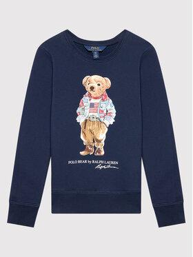 Polo Ralph Lauren Polo Ralph Lauren Mikina Bear 313850652002 Tmavomodrá Regular Fit