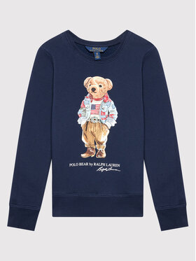 Polo Ralph Lauren Polo Ralph Lauren Суитшърт Bear 313850652002 Тъмносин Regular Fit