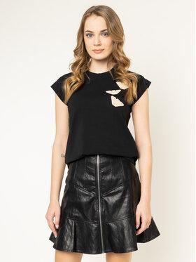 Emporio Armani Emporio Armani T-Shirt 3H2T7D 2J07Z 0999 Czarny Regular Fit