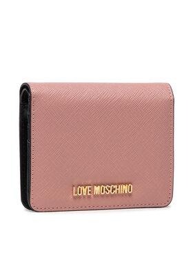 LOVE MOSCHINO LOVE MOSCHINO Kleine Damen Geldbörse JC5562PP0ALQ0601 Rosa