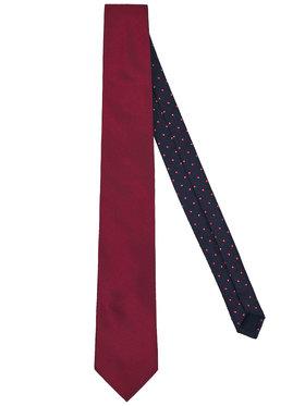 Tommy Hilfiger Tailored Tommy Hilfiger Tailored Krawatte Solid Oxford TT0TT06875 Dunkelrot