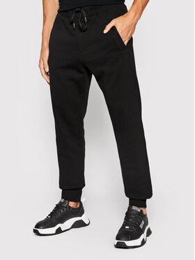 Versace Jeans Couture Versace Jeans Couture Teplákové kalhoty Vemblem 71GAAF01 Černá Regular Fit