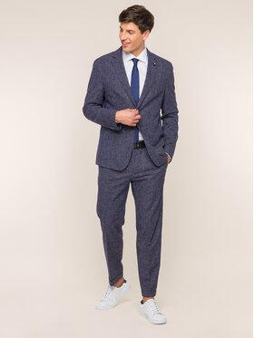 Tommy Hilfiger Tailored Tommy Hilfiger Tailored Spodnie garniturowe TT0TT05530 Granatowy Slim Fit