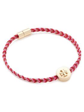 Tory Burch Tory Burch Bracciale Kira Braided Bracelet 78923 Rosso