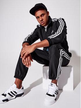 adidas adidas Tepláková souprava Essential GK9950 Černá Regular Fit