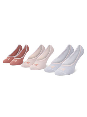 Under Armour Under Armour Σετ 3 ζευγάρια κάλτσες σοσόνια γυναικεία Essential LOLO Liner 3 Pk 1361148-658 Έγχρωμο