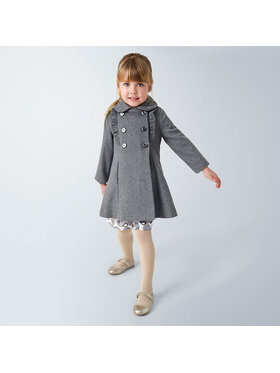 Mayoral Mayoral Manteau en laine 4409 Gris Regular Fit