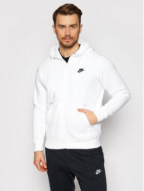 Nike Nike Bluză Sportswear Club BV2645 Alb Standard Fit