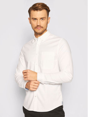 Calvin Klein Jeans Calvin Klein Jeans Hemd J30J315669 Weiß Slim Fit