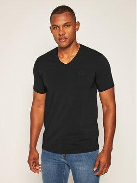 Armani Exchange Armani Exchange T-Shirt 8NZT85 Z8M9Z 1200 Schwarz Slim Fit