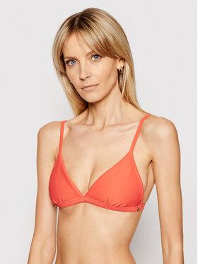 Seafolly Seafolly Bikinio viršus Essentials Fixed Tri 30969-640 Raudona