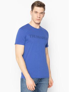 Trussardi Jeans Trussardi Jeans T-Shirt 52T00305 Granatowy Regular Fit
