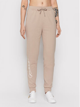 Guess Guess Pantaloni da tuta Alexandra O1BA11 KAOR1 Beige Regular Fit