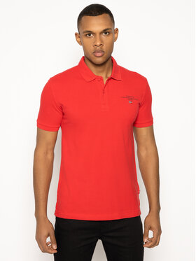 Napapijri Napapijri Polo Elbas 3 NP0A4EGC Rouge Regular Fit