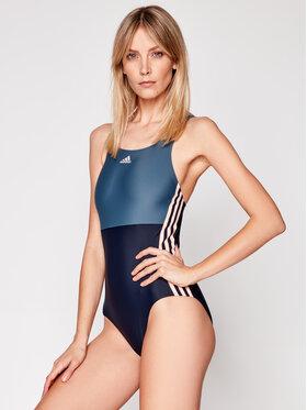 adidas adidas Maudymosi kostiumėlis Sh3.Ro 3-Stripes FS3950 Tamsiai mėlyna