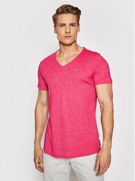 Tommy Jeans Tommy Jeans Tričko Tjm Jaspe DM0DM09587 Ružová Regular Fit