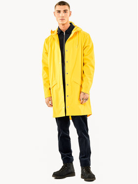 Rains Rains Giacca impermeabile Essential 1202 Giallo Regular Fit