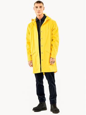Rains Rains Kurtka przeciwdeszczowa Essential 1202 Żółty Regular Fit