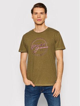 Jack&Jones Jack&Jones T-Shirt Woods 12193759 Grün Standard Fit