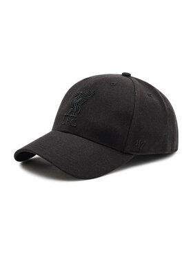47 Brand 47 Brand Czapka z daszkiem Adjustable Cap Liverpool MVPSP04WBP-BK Czarny