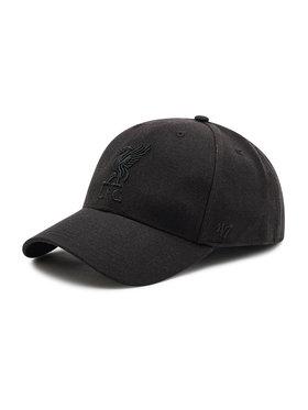 47 Brand 47 Brand Шапка с козирка Adjustable Cap Liverpool MVPSP04WBP-BK Черен