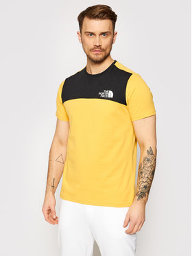 The North Face The North Face T-Shirt Himalayan NF0A3XYCLR01 Κίτρινο Regular Fit