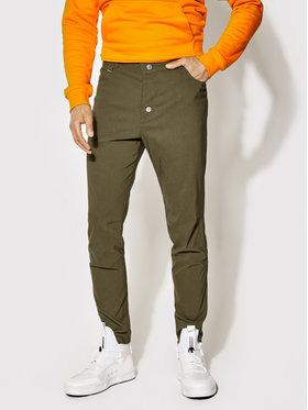 Rage Age Rage Age Pantaloni di tessuto Universe 1 Verde Slim Fit