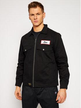 HUF HUF Jeansová bunda THE SMASHING PUMPKINS Zero Twill Mechanic JK00303 Černá Regular Fit