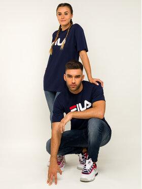 Fila Fila T-Shirt Unisex 681093 Dunkelblau Regular Fit