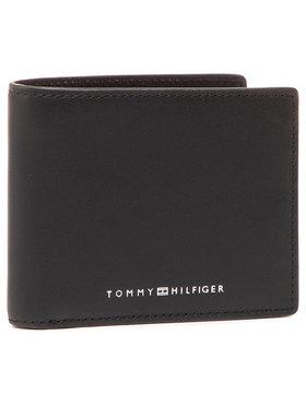 Tommy Hilfiger Tommy Hilfiger Portafoglio grande da uomo Th Metro Mini Cc Wallet AM0AM07291 Nero