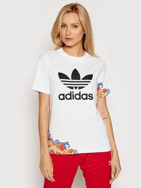 adidas adidas Póló GN3354 Fehér Regular Fit