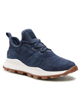 Timberland Timberland Sneakersy Brooklyn Lace Oxford TB0A1YVP019 Tmavomodrá