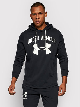 Under Armour Under Armour Bluza Rival Terry Big Logo 1361559 Czarny Loose Fit