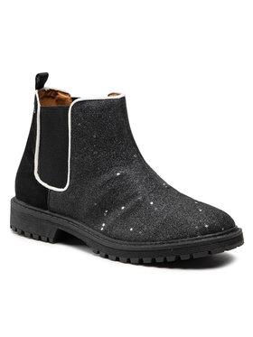 Pepe Jeans Pepe Jeans Kotníková obuv s elastickým prvkem Hatton Stars PGS50139 Černá