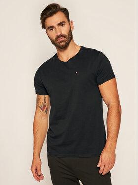 Tommy Jeans Tommy Jeans T-Shirt DM0DM04411 Czarny Regular Fit